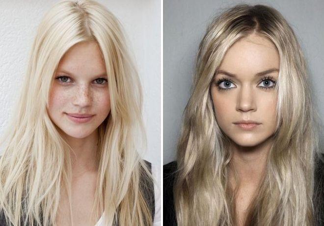 цвет волос перламутровый блонд