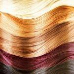 Цвета волос и название