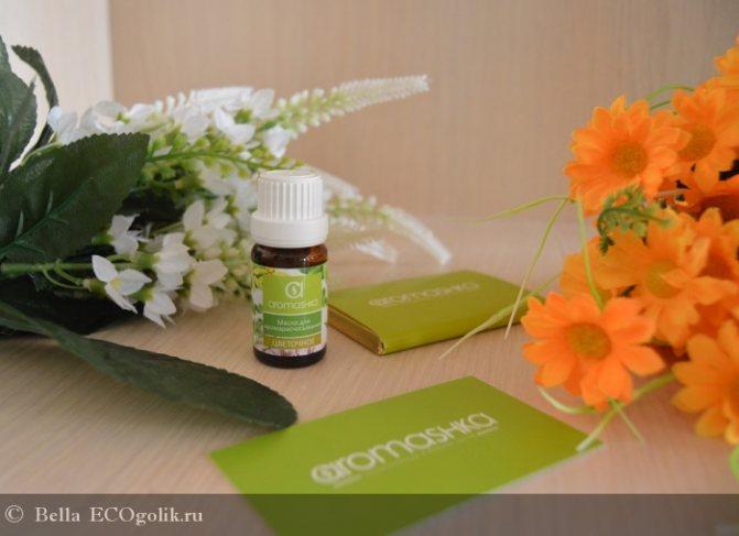 Цветочное масло для аромарасчёсывания Аромашка - отзыв Экоблогера Bella