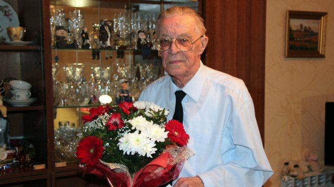 Цветы для мужчина на пенсии