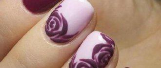 Цветы на ногтях гель лаком - идеи маникюра и новинки дизайна: френч, объемные, нежные, прозрачные, красивые цветы. Фото