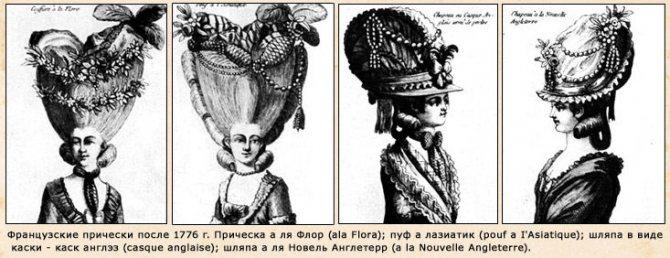 Дамские прически эпохи Рококо, фото № 10