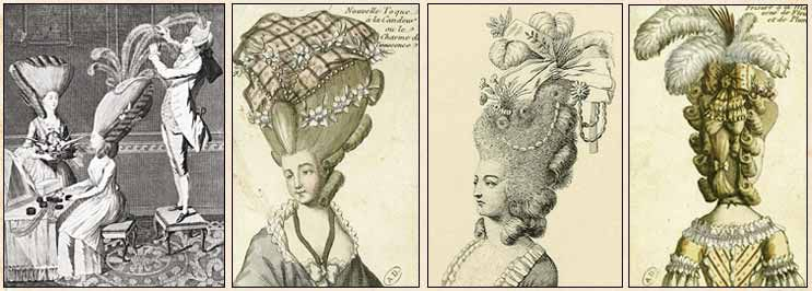 Дамские прически эпохи Рококо, фото № 11