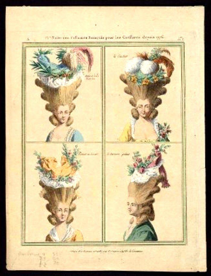 Дамские прически эпохи Рококо, фото № 14