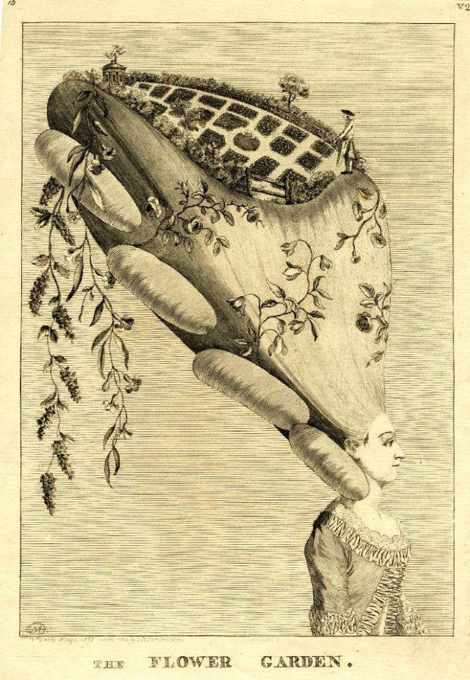 Дамские прически эпохи Рококо, фото № 18
