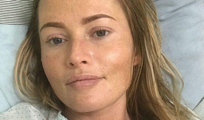 Дана Борисова без макияжа