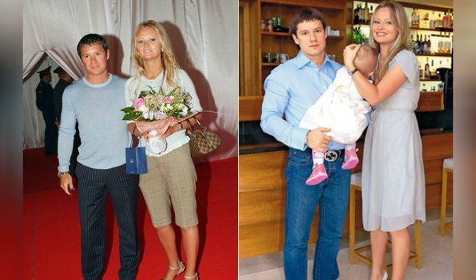Дана Борисова и Максим Аксенов
