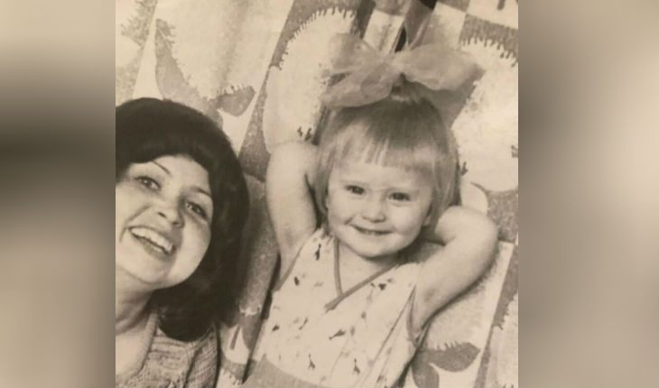 Дана Борисова в детстве