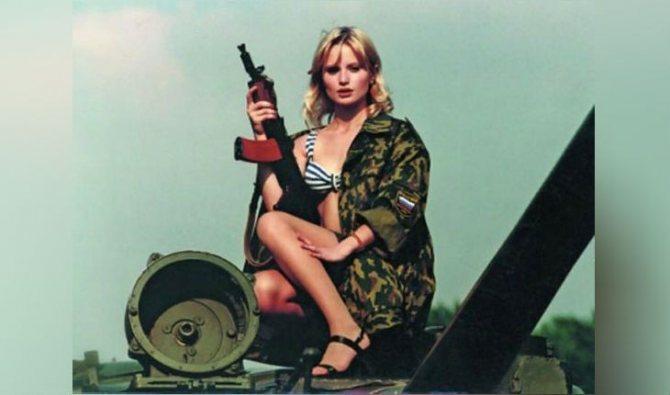 Дана Борисова в молодости