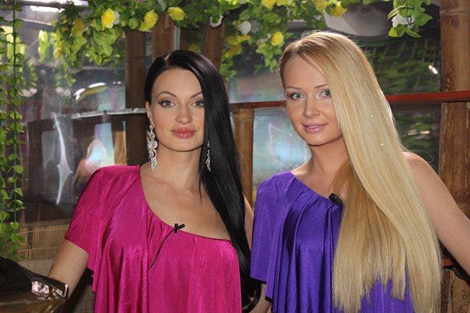 Дарья Пынзарь и Евгения Гусева