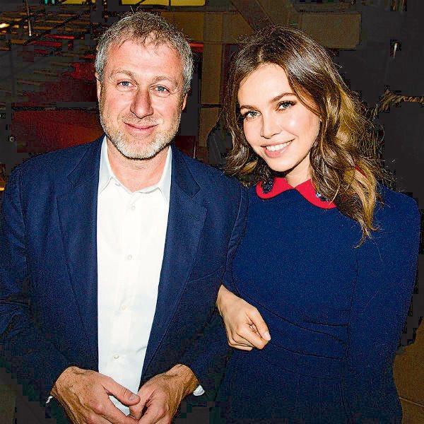 Дарья Жукова с экс-эупругом Романом Абрамовичем