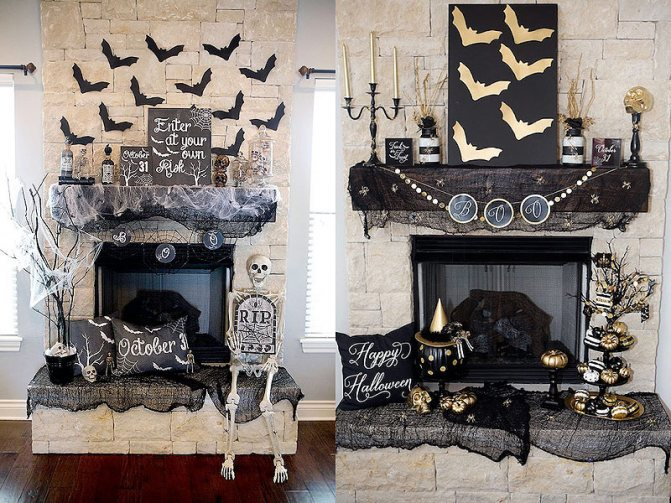 Декор на день Хэллоуина