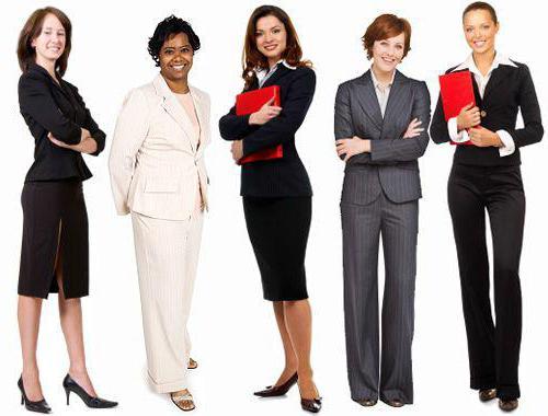 деловая одежда дресс код для женщин