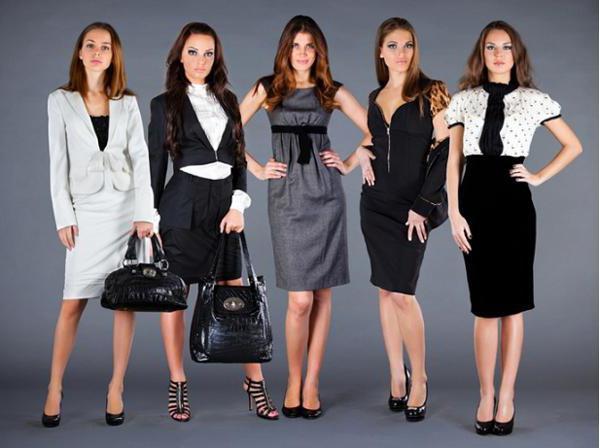 деловой дресс код для женщин встреча