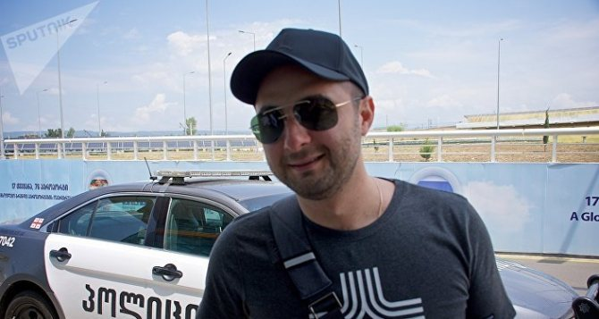 Демис Карибидис в столице Грузии