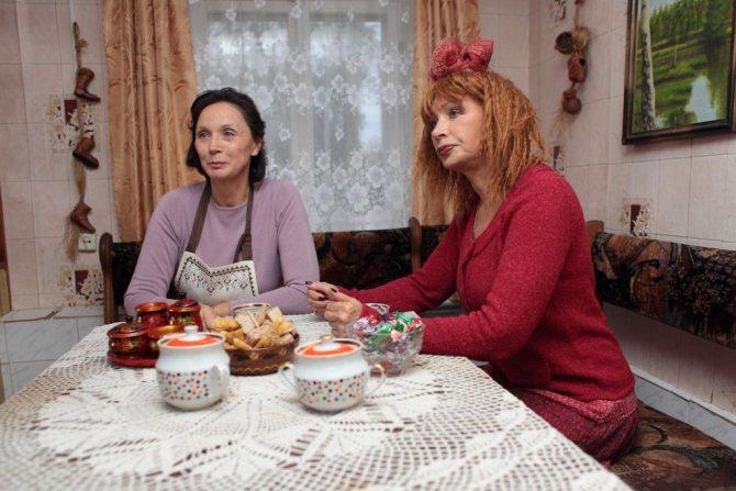 Дети и внуки Татьяны Васильевой (актриса) фото