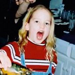 Детская фотография Дженни из архива семьи Лоуренс