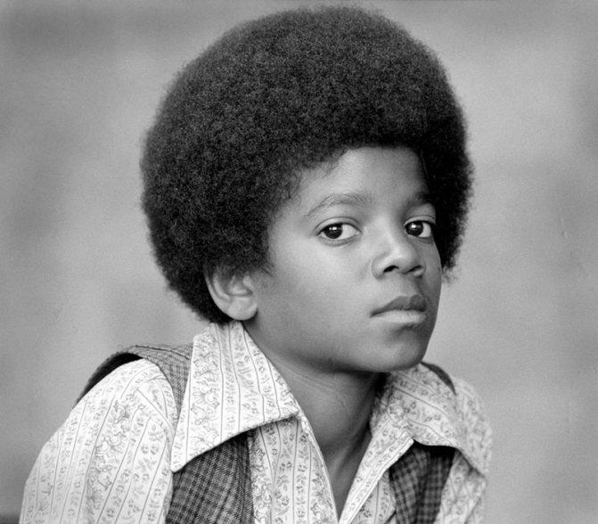 Детская фотография Майкла Джексона
