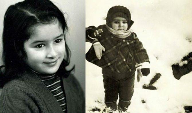 Детские фото Тины Канделаки