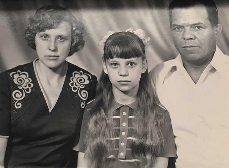 Детские годы Ирины салтыковой