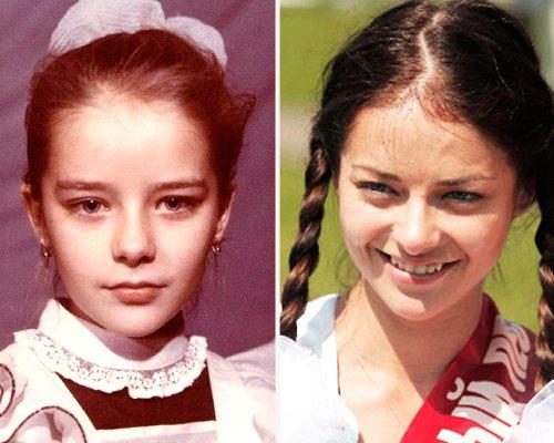 детство и юность марины
