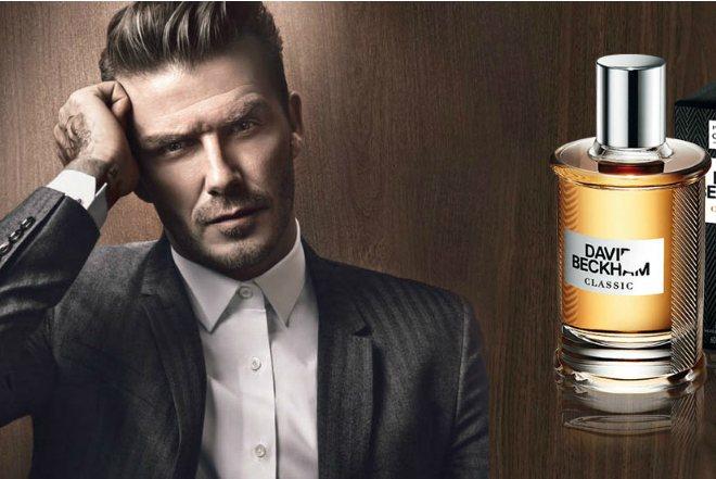Дэвид Бекхэм в рекламе парфюма