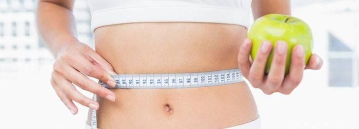 девушка после диеты для похудения в талии