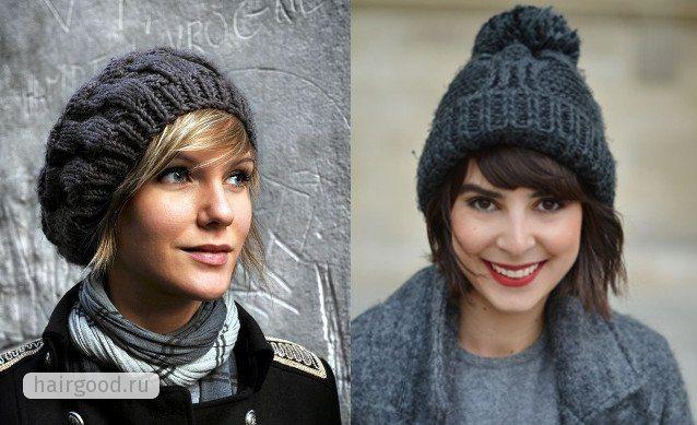 Девушки в шапках