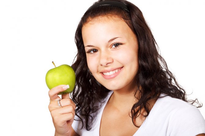 Диета для девочек-подростков: какие продукты разрешаются
