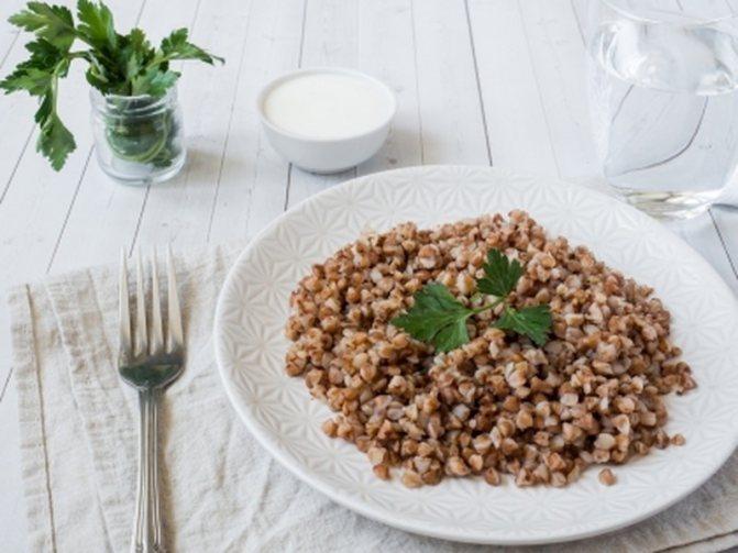 Строгая диета из гречки