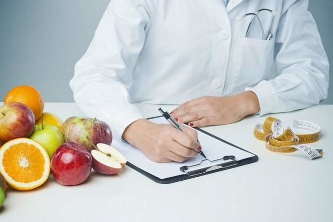 диета по рецепту врача