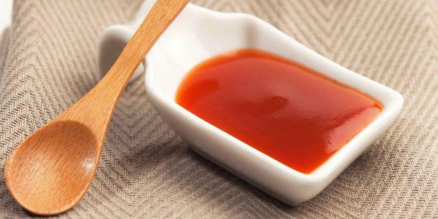 диетические соусы: кисло-сладкий соус