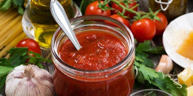 диетические соусы: сальса