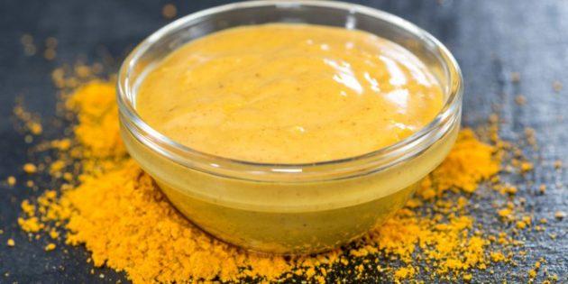 диетические соусы: яблочный соус с карри