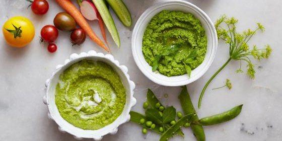 диетические соусы: зелёный соус-крем