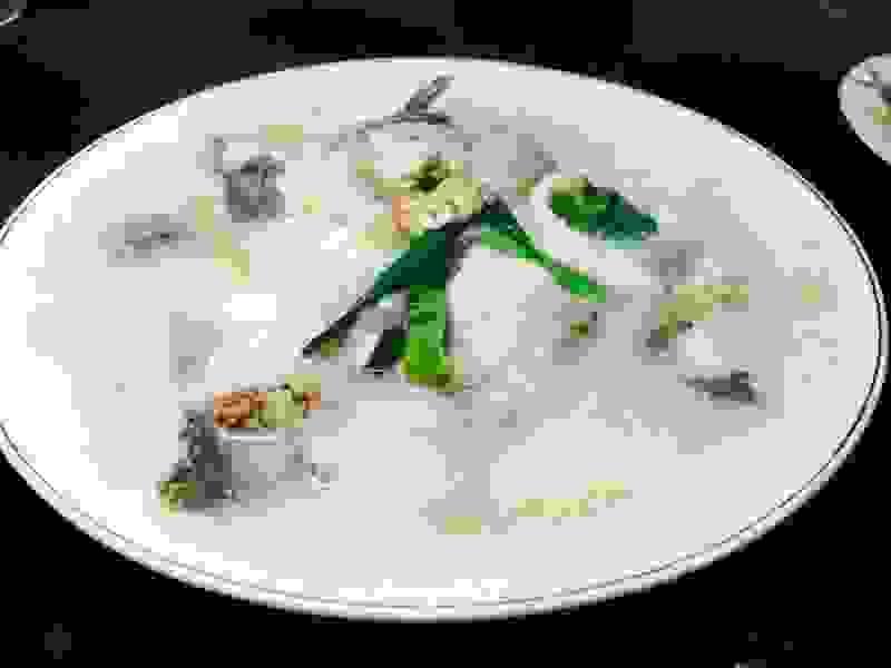Диетический рыбный суп из консервов