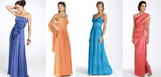 Длина платья для дружки