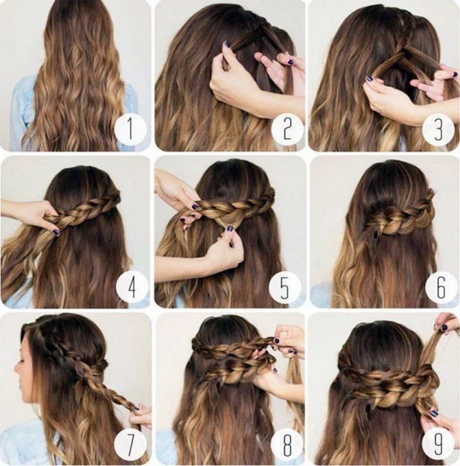 Длинные волосы: как уложить