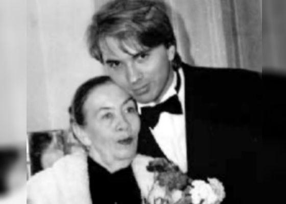 Дмитрий со своим педагогом Екатериной Иофель