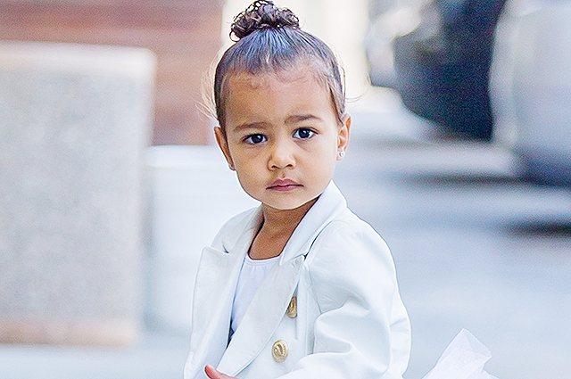 Дочери Ким Кардашьян и Канье Уэста исполнилось три года: 8 интересных фактов о малышке Норт