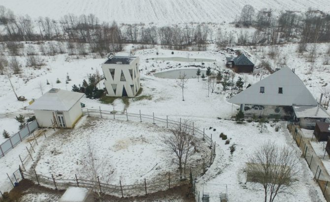Дом Юлии Чичериной, где живет Чичерина