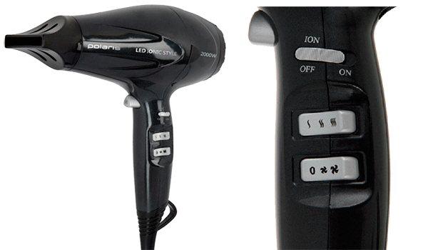 Домашний фен Polaris-PHD-2079Li