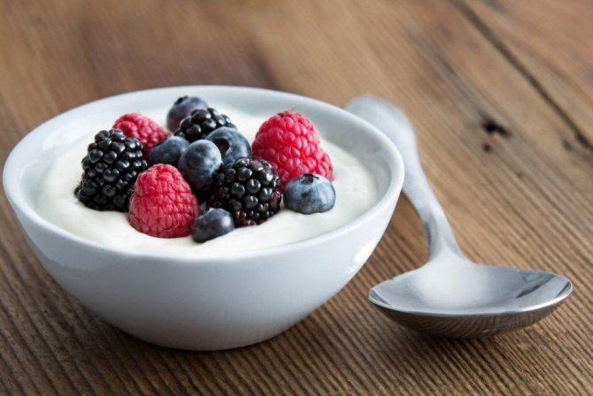 Домашний йогурт - польза