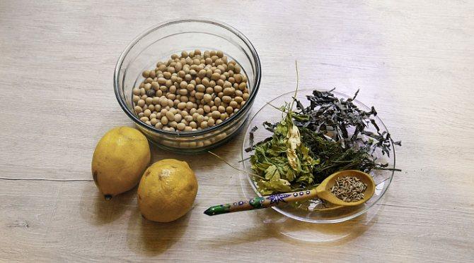 домашний тофу, рецепт, ингредиенты