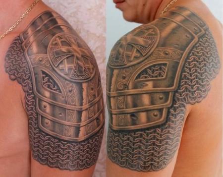 Доспехи татуировка