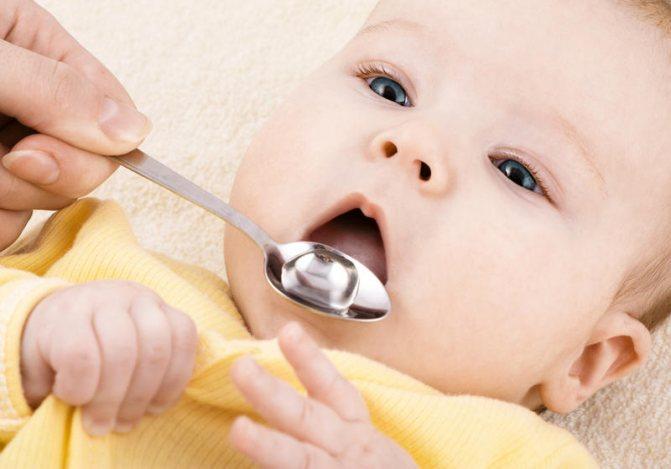 Доза антибиотиков для грудного ребенка
