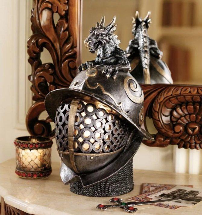 дракон шлем
