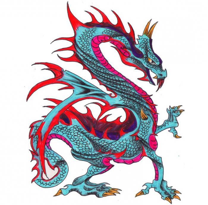 дракон значение тату