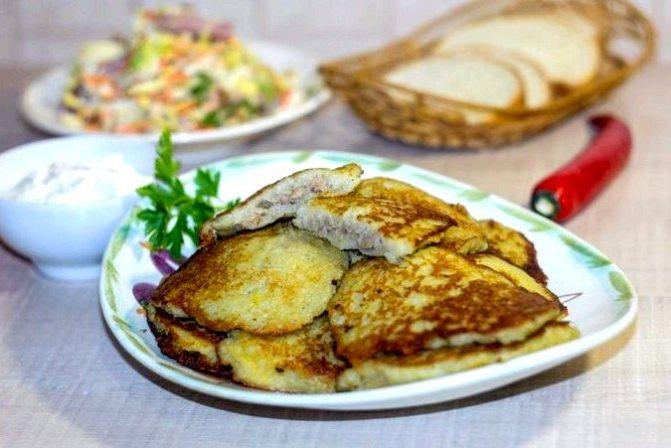 Драники картофельные с фаршем рецепт с фото придать им правильную форму