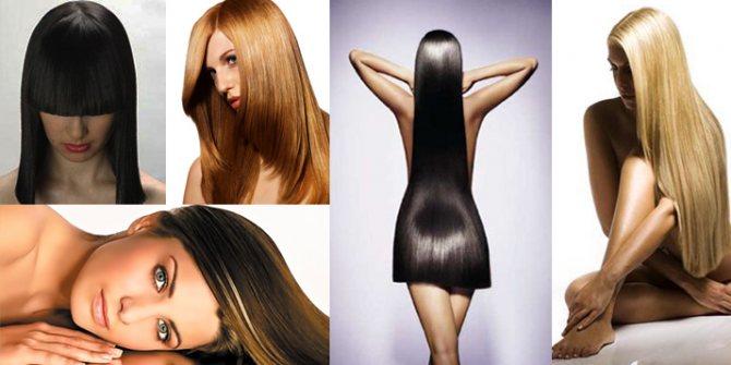 Другие советы после кератинового выпрямления волос